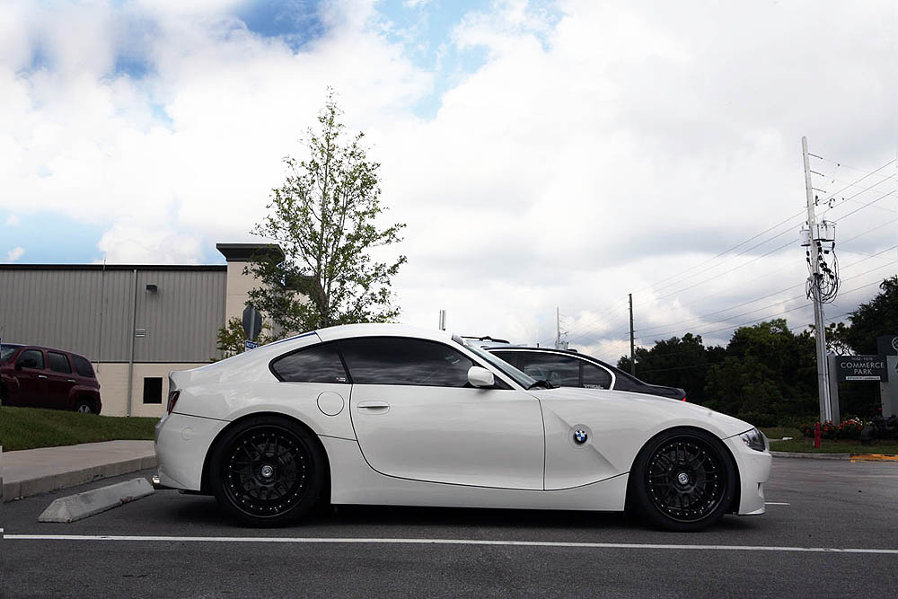 Alpine White Bmw Z4m On Black Hre C20s 6speedonline