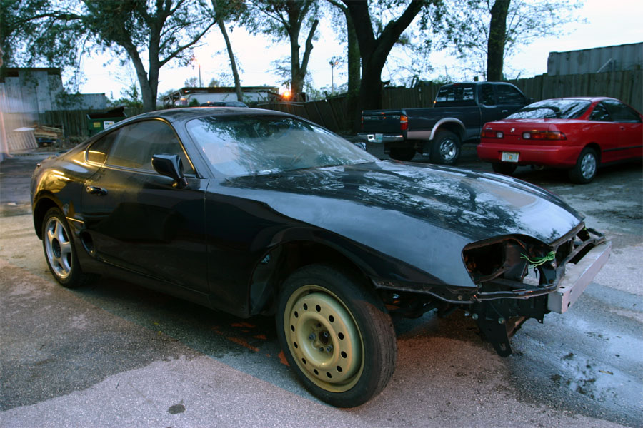 Toyota Supra Rolling Shell For Sale Chicago Criminal And